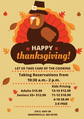 Thanksgiving Holiday Poster (1)