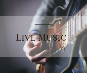 Live Music Home page